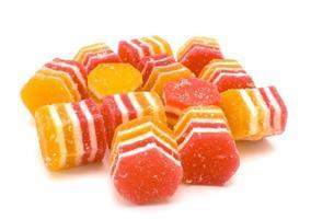 caramelle alla frutta, gelatina di frutta