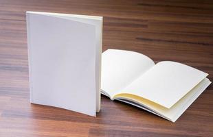 catalogo vuoto, brochure, riviste, libro mock up foto