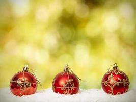 Natale di sfondo foto