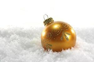 palla di Natale foto