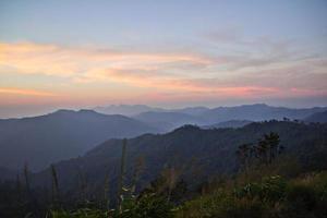montagna. foto