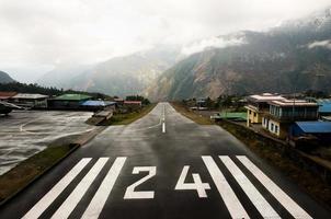 lukla: nepal foto
