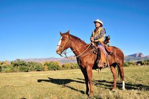 partner di equitazione foto
