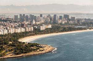 Spiaggia Flamengo a Rio de Janeiro, Brasile foto