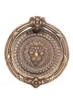 batacchio leone in ottone