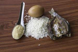 componenti di alimenti thailandesi foto