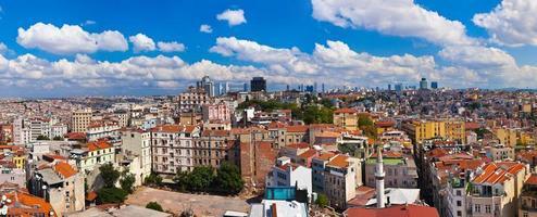 panorama di Istanbul Turchia foto