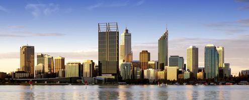 Perth al crepuscolo foto