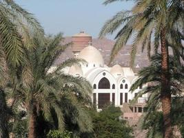 arcangelo cattedrale copta ortodossa di michael, aswan foto