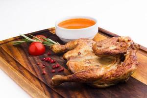 pollo fritto, stile georgiano foto