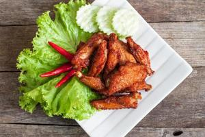 ali di pollo fritto