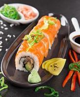 set di sushi di pesce giapponese