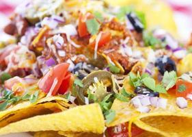 sfondo di nachos foto