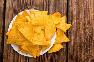 porzione di nacho foto