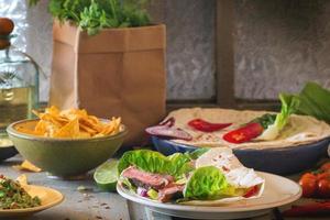cena in stile messicano