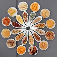 piatto di snack foto