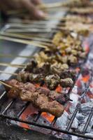 cibo di strada filippino foto