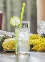 cocktail gin fizz foto