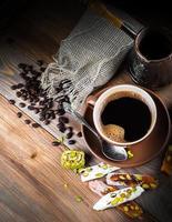 delizia turca e al caffè foto