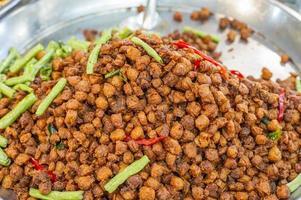 cibo vegetariano foto