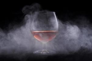 cognac in vetro