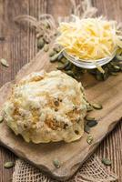 panini al formaggio fatti in casa foto