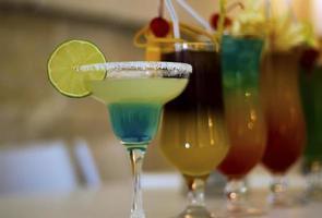 primo piano del bicchiere da cocktail