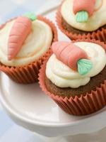 Cupcake alle carote foto