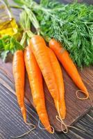 carota cruda foto