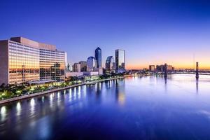 Skyline di Jacksonville in Florida foto
