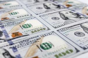 mucchio di dollari, sfondo di denaro foto
