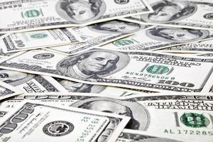 sfondo di denaro da dollari usa foto