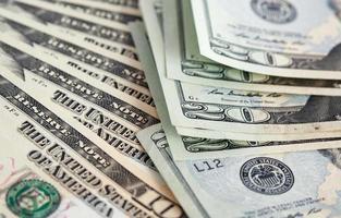 sfondo di dollari USA foto