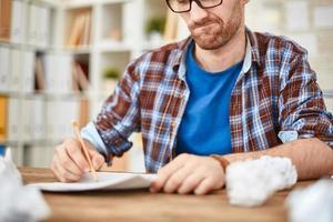 scrivere idee foto