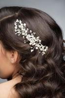 accessorio per capelli perla foto