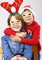 bambini di natale foto