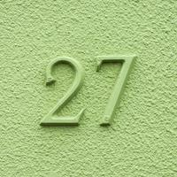 numero civico 27