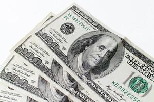 banconote da un dollaro americano foto