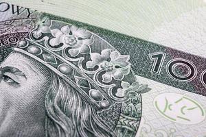 banconota 100 pln - zloty polacco