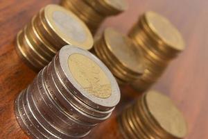 monete in euro foto