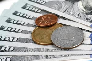 banconote da un dollaro foto