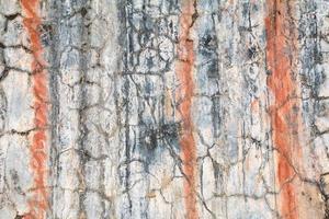 struttura della parete del grunge con ruggine e crepe.