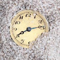 vecchio orologio foto