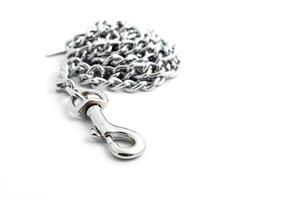 maglie di una catena da vicino