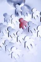 concetto di rete aziendale foto