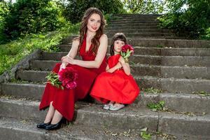 madre e figlia foto