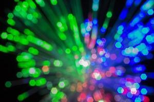 fibra ottica. foto