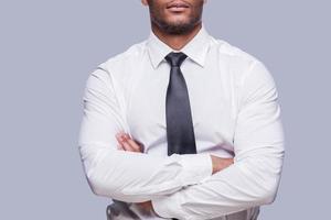 uomo d'affari sicuro. foto