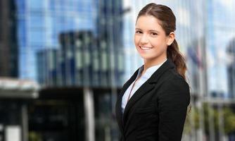 ritratto di donna d'affari foto