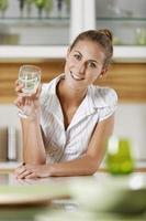 donna d'affari rilassante foto